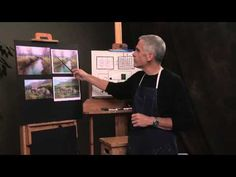 Preview Richard McKinley's http://ArtistsNetwork.tv art video on Composition & Design for Landscape Painting for quick painting tips on the importance of your angle of vision, breaking your subject into simple shapes, and creating a center of interest.