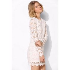 ‼️HP✨‼️Oh My Love Lace Crochet Boho Chic Dress Oh My Love London for Anthropologie Dress. Worn once to a formal. It's and off-white like an eggshell white. Great and flirty. There is some minor discoloration in the inner neck lining. Great used condition. Size large--Would fit more of an 8-10 than a size 12. Price firm unless bundled so get it before it's gone! Host Pick 5/17/16 for Summer Preview Party ❤️✨ Anthropologie Dresses Long Sleeve