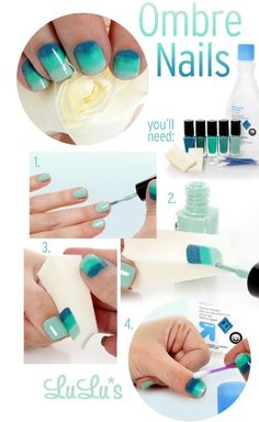 How to: ombre nails