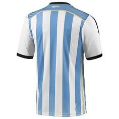 8d8404de042 ADIDAS ARGENTINA AUTHENTIC HOME JERSEY FIFA WORLD CUP BRAZIL 2014 PLAYER  VERSION