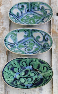 Oval bowls folded | ceramics By laurie goldstein | marmalade Market