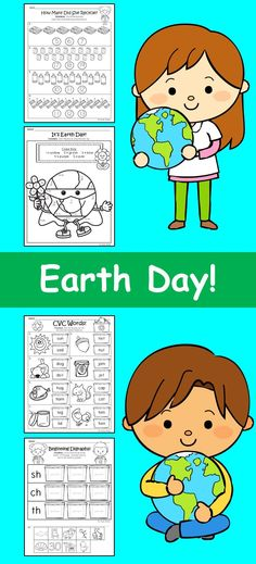 Earth Color by Number - Earth Day coloring page for kids, coloring ...
