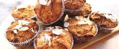 Szaftos, puha narancsos muffin mandulalisztből – Gluténmentes édesség egyszerűen - Receptek | Sóbors Muffin, Paleo, Keto, Breakfast, Food, Morning Coffee, Essen, Muffins, Beach Wrap