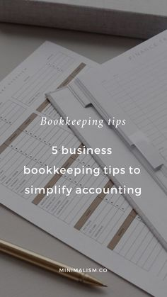 5 business bookkeeping tips to simplify accounting. If you're a small business owner or entrepreneur and feel as if your finances are not in order, here are five ways to simplify your bookkeeping – plus an overview of Bench Accounting. Online Bookkeeping, Small Business Bookkeeping, Bookkeeping And Accounting, Small Business Accounting, Bookkeeping Services, Business Marketing, Business Planning, Business Tips, Business Essentials