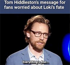It better be fine, Loki! You stole the dang show! Loki Thor, Loki Laufeyson, Marvel Avengers, Marvel Comics, Thomas William Hiddleston, Tom Hiddleston Loki, Avengers Memes, Marvel Memes, Norse Mythology