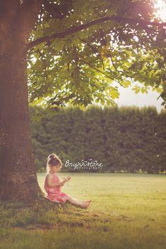 Toddler & Tree | Fraser Valley Photographer | Brynnstone Photography