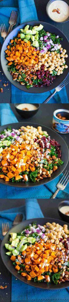 almond, avocado, baked, bean, black pepper, healthy, potato, recipes, salad