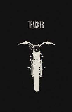 Tracker Motorcycle Poster