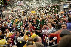 the S&P 500 stock index futures pit at the Chicago Mercantile Exchange . Chicago Mercantile Exchange, Fireworks Design, Wall Street, Lessons Learned, All About Time, Dolores Park, Investing, Marketing, Learning