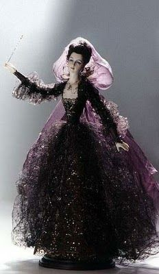 """Fairy Godmother"" by Russian doll artist Alexandra Koukinova"