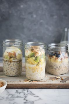 How to make delicious overnight oats recipes #healthy #recipes