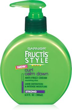 The BEST product for curls!!! If you have curls and haven't tried it yet please try...you will LOVE this product!  It's cheap, smells great and REALLY WORKS!!! Thank you Garnier Fructis!