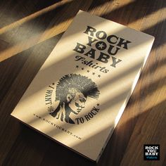 Rock You Baby box with graphics