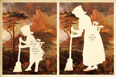 My Prince is Going To Find Me, Any Minute Now Wilhelm Staehle, silhouette art from Silhouette Masterpiece Theatre