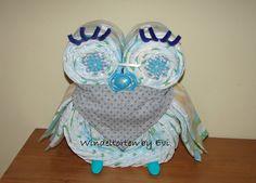 Windeleule für Jungs-die etwas andere Windeltorte! von Windeltorten By Evi auf DaWanda.com