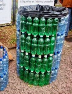 17 Useful Reuse Plastic Bottles Ideas - HomelySmart 17 Useful Reuse Plastic Bottles Ideas - HomelySmart HomelySmart Reuse Plastic Bottles, Plastic Bottle Crafts, Plastic Waste, Recycled Bottles, Plastic Recycling, Diy Projects With Plastic Bottles, Shrink Plastic, Recycled Art Projects, Recycled Crafts