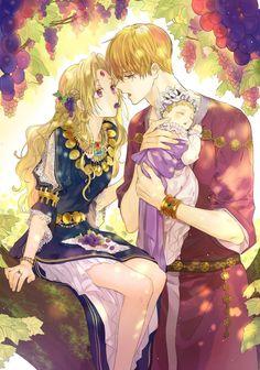Anime Couples Drawings, Anime Couples Manga, Cute Anime Couples, Manga Art, Manga Anime, Familia Anime, Romantic Manga, Anime Love Couple, Manga Covers