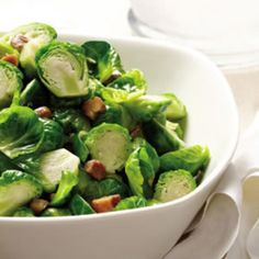 Brussels Sprouts with Chestnuts & Sage - Fitnessmagazine.com