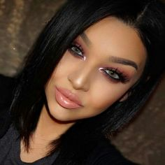 Instagram Makeup, Makeup Goals, Hair Makeup, Make Up, Eyes, Create, Hair Styles, Face, Hair Plait Styles