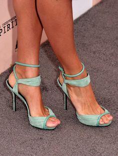 Eva Mendes - Shoe ?