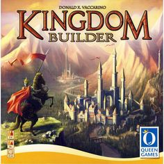 This is Kingdom Builder The Board Game. It's a popular strategy board game that revolves around the goal of building your very own kingdom. It's a fairly large game is scope and is meant for 2 to 4 pl