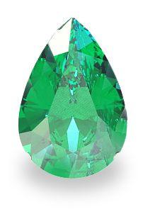 Geschliffener Smaragd