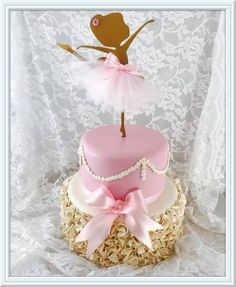 Good cake , for more image click this image Ballerina Birthday Parties, Ballerina Party, Baby Birthday, Birthday Cake, Ballet Cakes, Ballerina Cakes, Bolo Fack, Ballerina Baby Showers, Baby Shower Parties