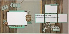 This layout featuring the Rustic Home Fundamentals was inspired by the artwork found in the Annual Inspirations catalog! To get yours visit my website http://bonnietullo.ctmh.com