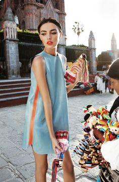 Alina Baikova for Vogue Australia Photo: Nicole Bentley Styling: Meg Gray