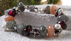 Moonstones, garnets, and my favorite...