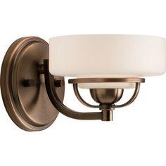 Progress Lighting�Torque Copper Bronze Bathroom Vanity Light $90