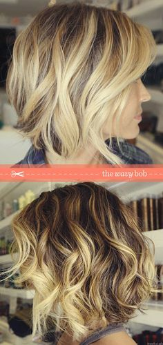 this is my future new and future hair cut. Loving the ombre to maybe to blonde…