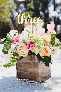 We have DIY Rustic, Cheap Wedding Centerpieces Ideas for you perfect moment. In regards to centerpieces, think beyond the vase! This whimsical centerpiece is affordable and oh-so-easy Chic Wedding, Wedding Table, Floral Wedding, Wedding Colors, Wedding Flowers, Wedding Ideas, Elegant Wedding, Wedding Rustic, Wedding Gold
