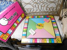 Pass Out Game 1990 Drinking Game  Party Game Vintage Board
