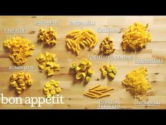In this episode of Handcrafted (fka Beautiful Butchery), the Pastaio of Eataly Flatiron, Luca D'Onofrio, shows Bon Appétit how to turn four types of pasta do. Bon Appetit, Tortellini, Pasta Formen, Pasta Recipes, Cooking Recipes, Gourmet Cooking, Recipe Pasta, Vegan Recipes, Homemade Pasta Dough