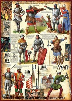 Armour types Eastern Europe - Advice please! Medieval World, Medieval Knight, Medieval Armor, Medieval Fantasy, Medieval Times, Armadura Medieval, Military Art, Military History, Costume Français