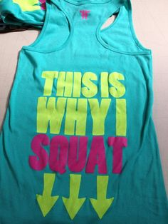 This Is Why I Squat - Tank - HIPFIT
