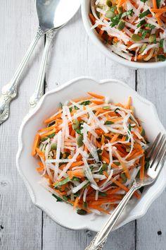 Raw Turnip Salad Recipe