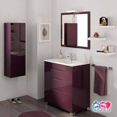 Moderná alebo klasická? Ak sa chystáte rekonštruovať, alebo zariaďovať kúpeľňu, tieto nápady sa vám zídu! - sikovnik.sk Homemaking, Ideas Para, Vanity, Design, Bathroom Ideas, Washroom, Bathroom Drawers, Bowl Sink, Closets