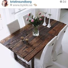 Farmhouse Dining Table Ideas for Cozy Rustic Look Dining Room Design Cozy Dining Farmhouse Ideas rustic Table Dining Room Design, Dining Room Table, Wood Table Design, Luxury Dining Room, Wooden Dining Tables, Dining Nook, Dining Decor, Dining Chairs, Table Plancha