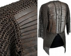 Indo-Persian mail and plate shirt, Indian (Mughal or Deccani) mail and plate shirt. Mail shirts reinforced with steel or iron plates appear to have been developed first in Iran or Anatolia in the late 14th or early 15th c. Variations of mail-and-plate armor were worn throughout the Middle East by the Persians, Ottomans, and Mamluks. The style probably was introduced into India early in the Mughal period due to Ottoman influence on Mughal military practices.