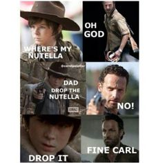 TWD and Nutella