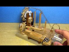 Marble machine with double wheel - YouTube