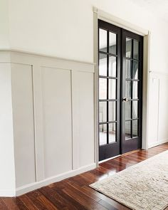 Shared Boys Rooms, Off White Walls, Upstairs Hallway, Flex Room, Blue Point, Board And Batten, Dining Room Walls, Moldings, Home Bedroom