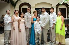 Classic Family Formals Before The Ceremony Aruba Destination Wedding At Occidental Grand Resort