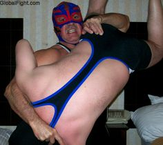 daddy dominating son wrestling hotelroom matches