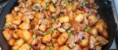 Brassói aprópecsenye készítése 25 Kung Pao Chicken, Meat, Ethnic Recipes, Food, Essen, Meals, Yemek, Eten