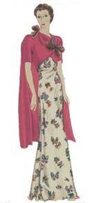 1937 - butterfly dress
