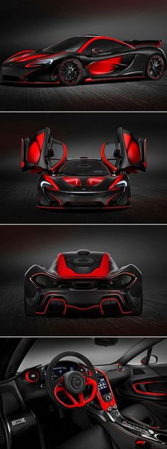 Visit The MACHINE Shop Café... (Best of McLaren @ MACHINE) The 2014 McLaren P1 Supercar #McLarenSupercar