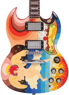 eric clapton the fool guitar. Awesome guitar! Design status legendary!